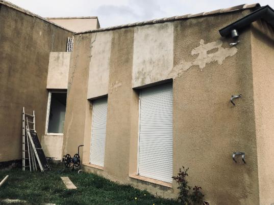 Ravalement de façade, Aix-en-Provence